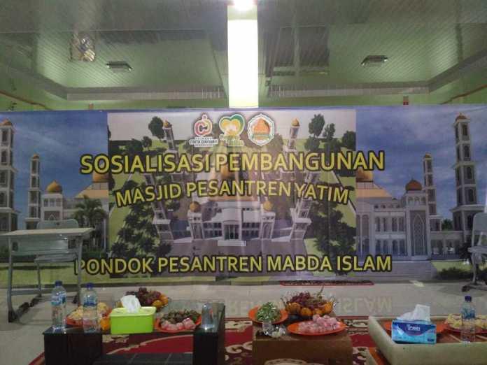 Pesantren Yatim Sosialisasikan Pembangunan Masjid 1500 Jamaah